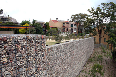 Ballast Point Park gabion